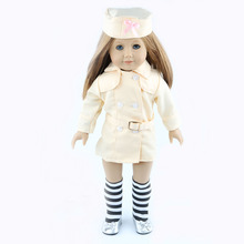 Free shipping hot 2014 new style Popular 18 American girl doll clothes dress b2942