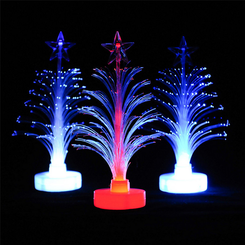 Navidad rbol luces led rbol de navidad de color cambiante luz de la noche lampen - Luces arbol de navidad ...