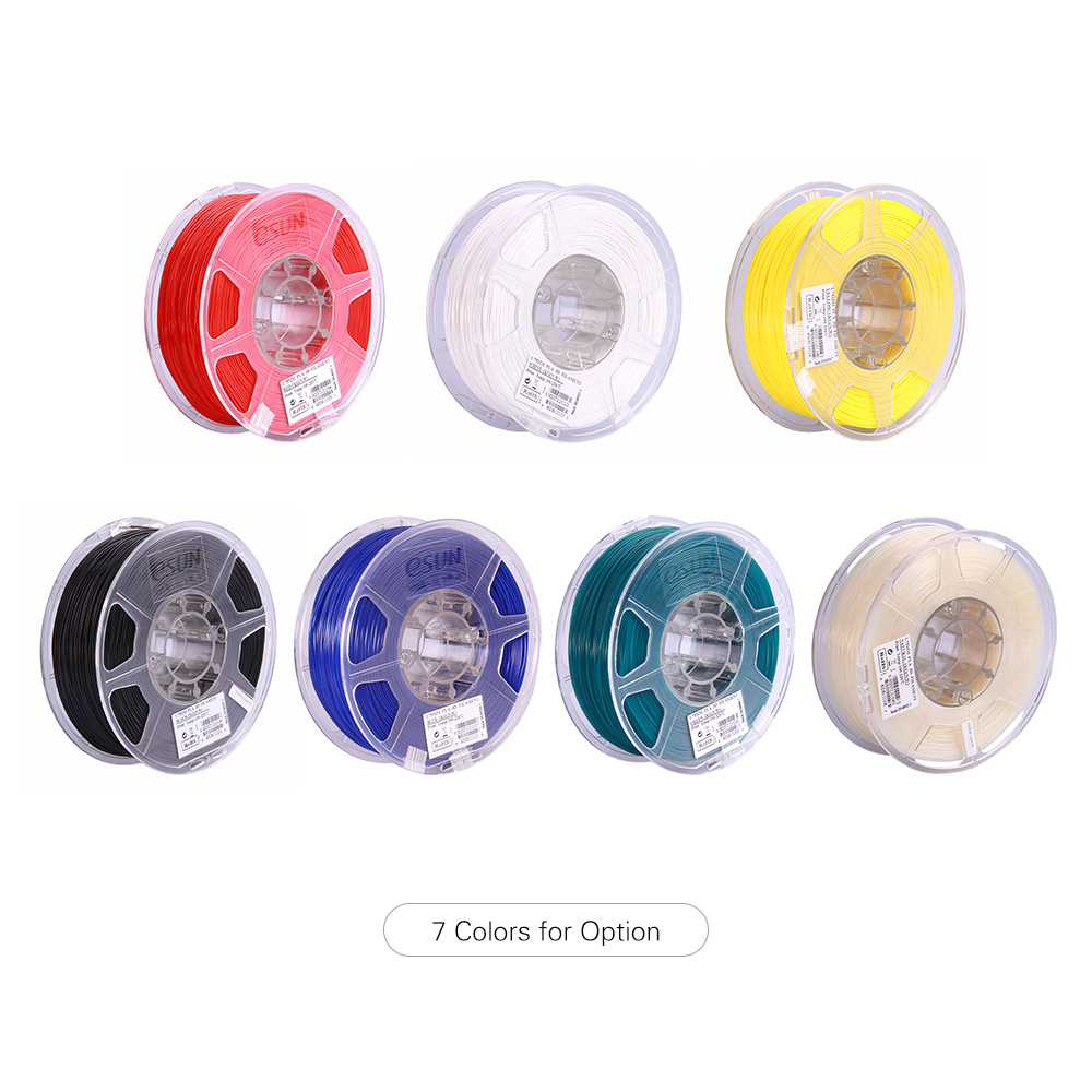 Clear 3d Printing Filament Pla 1.75mm 2.2lbs Always Buy Good 0.0.. Dimensional Accuracy Of /