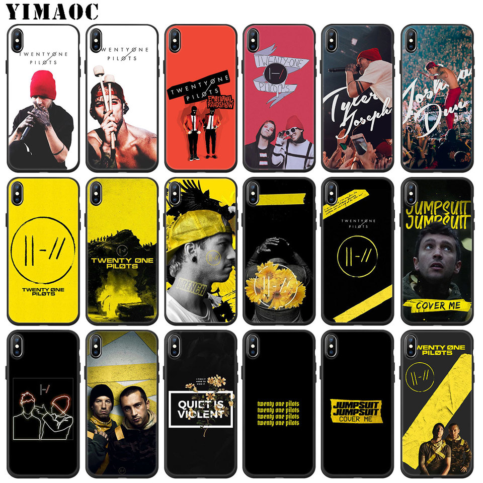 Yimaoc Twenty One Pilots Trench Soft Silicone Phone Case For