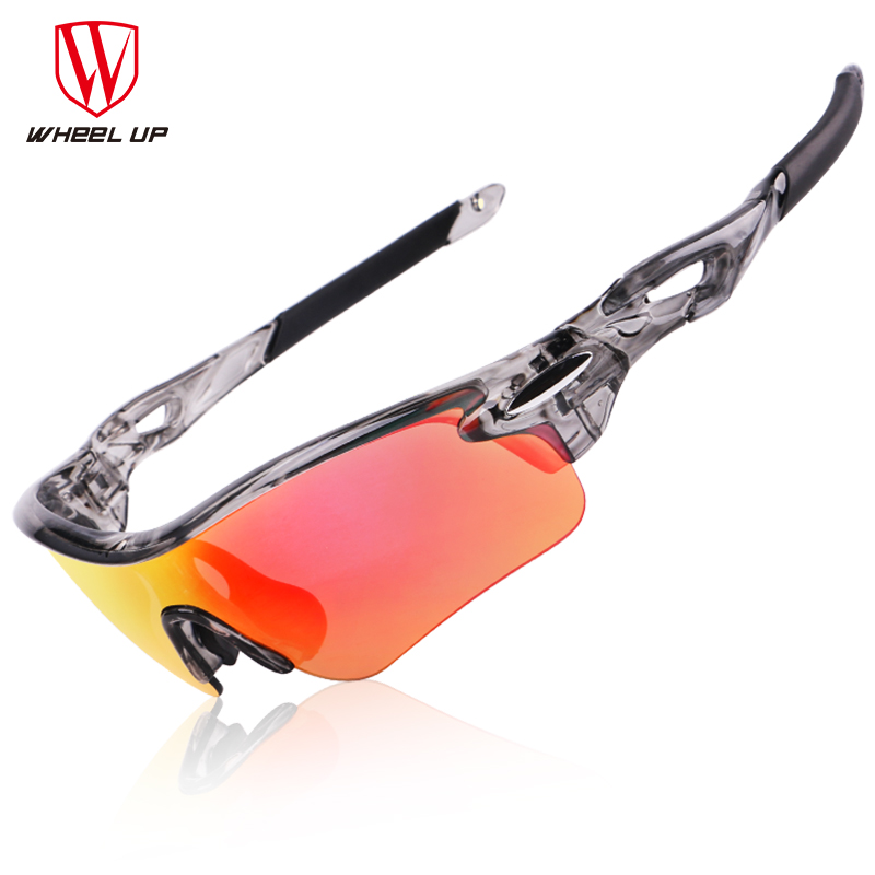 e9438fe1d0 WHEEL UP New Design PC Full Coating Sport Sunglasses Polarized Outdoor  Bicycle Glasses Waterproof Coating UV400 Bike Goggles