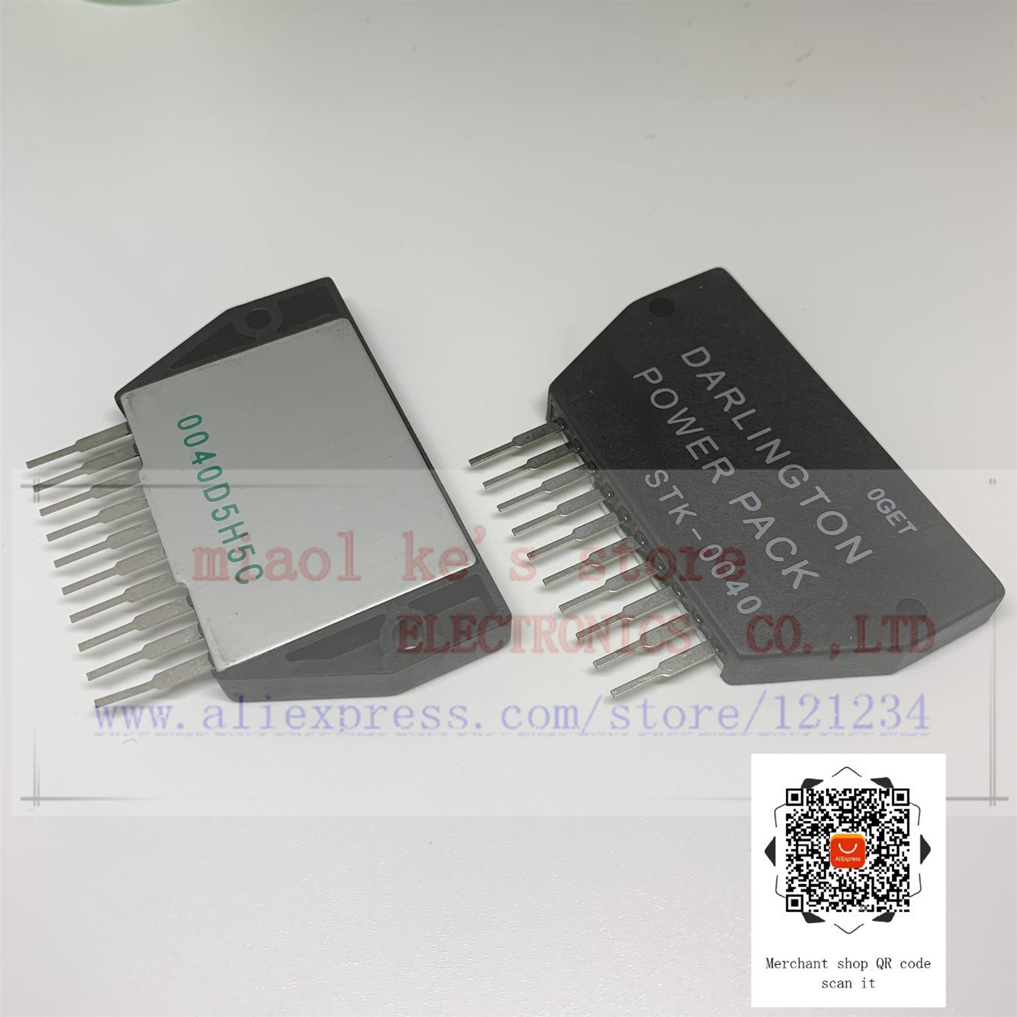 100%New Original; STK-0040 STK0040 ZIP10 - OUTPUT STAGE OF AF POWER AMP