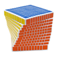 2016 NUEVA ShengShou Cubo Mágico Profesional 11x11x11 Cubo Mágico Puzzle Velocidad Juguetes Clásicos de Aprendizaje y Educación para los niños