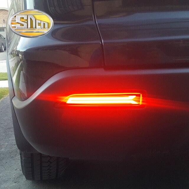 For Honda Crv Brv City Mobilio Rear Bumper Reflector Led Brake Light
