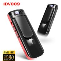 Idv009 мини Камера Запись ручка 1080 P Full HD Спорт видеокамера поверните объектив голос, видео Регистраторы встроенный MP3-плееры мини DVR