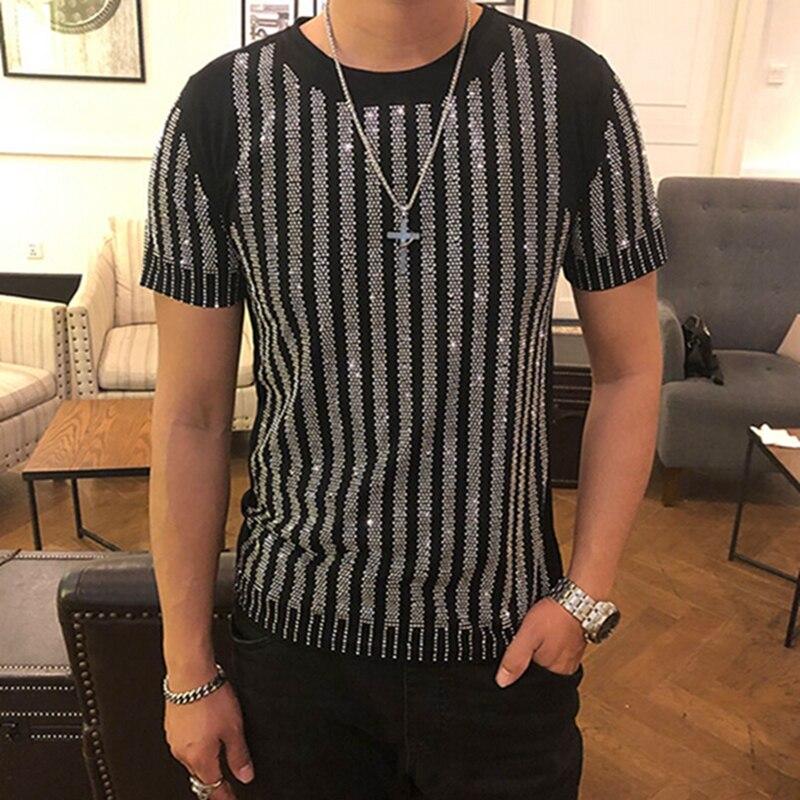 Мужская футболка с короткими рукавами, весна лето