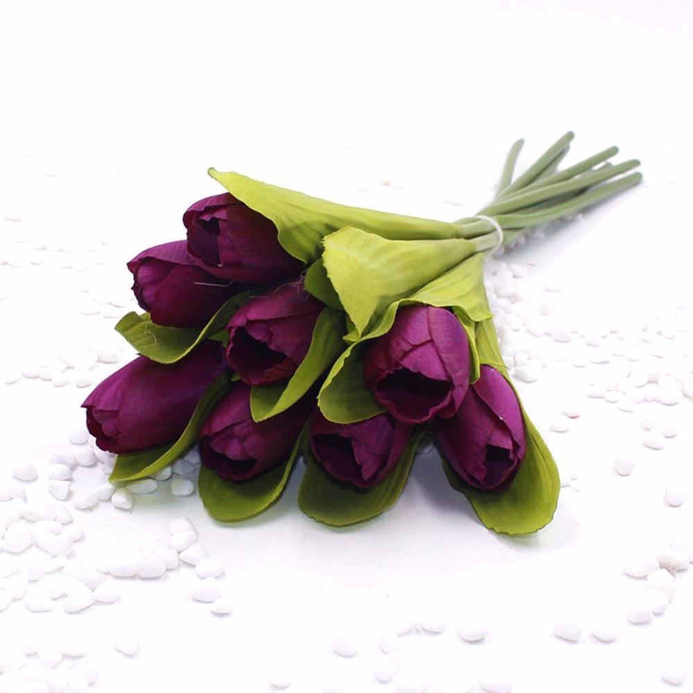 Mẫu hoa Tulip giả M-172 màu Tím
