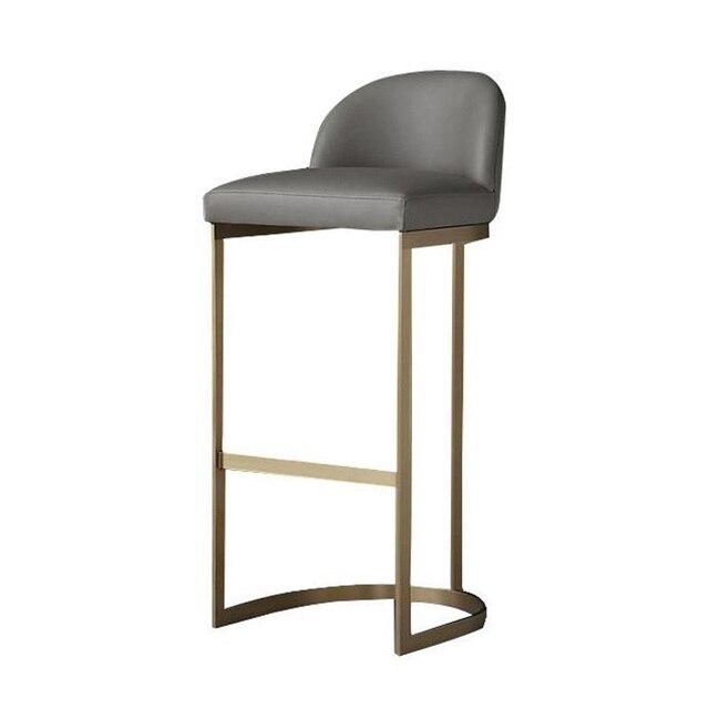 Beau Nordic Bar Stools Bar Combination Cafe Restaurant High Chair Bar Front Desk  With High Bbar Stool