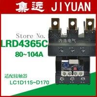 [ZOB] Аутентичные оригинальные термальность реле 80 104A LRD4365C защита от перегрева реле тепловой перегрузки