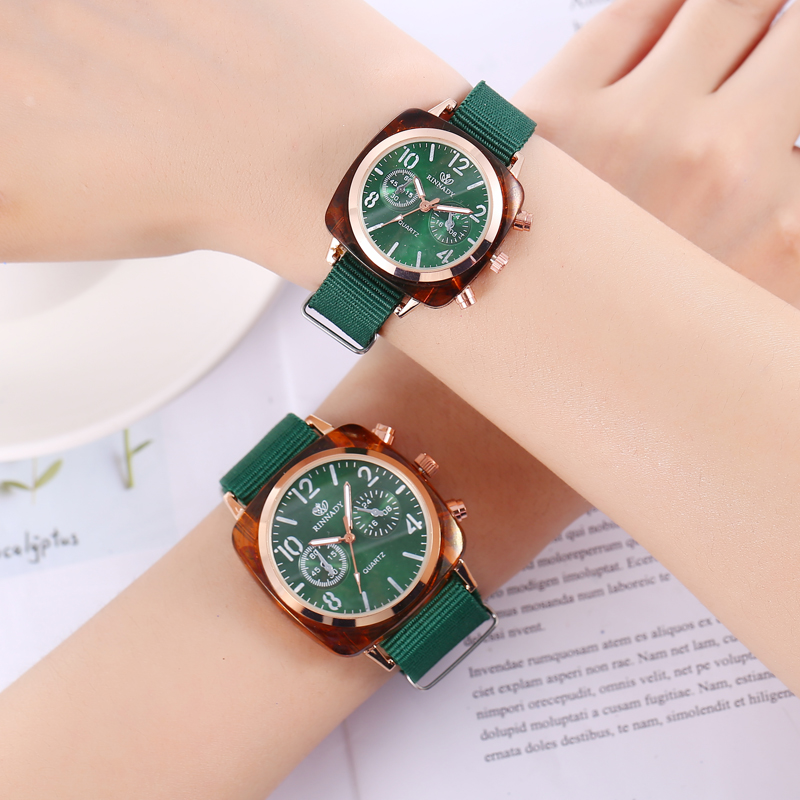 1PC Nato Nylon Strap Quartz Women Watch Top Brand Couple Watches For Men Fashion Casual Wrist Watch For Lovers Reloje Erkek Saat