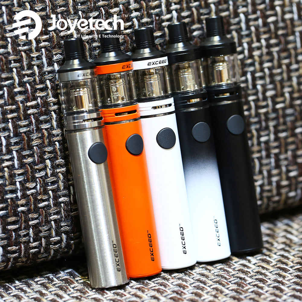 Оригинальный стартовый набор Joyetech Exceed D19 с 2 мл пульверизатором D19, встроенный аккумулятор 1500 мАч, набор электронных сигарет Vs EGo AIO