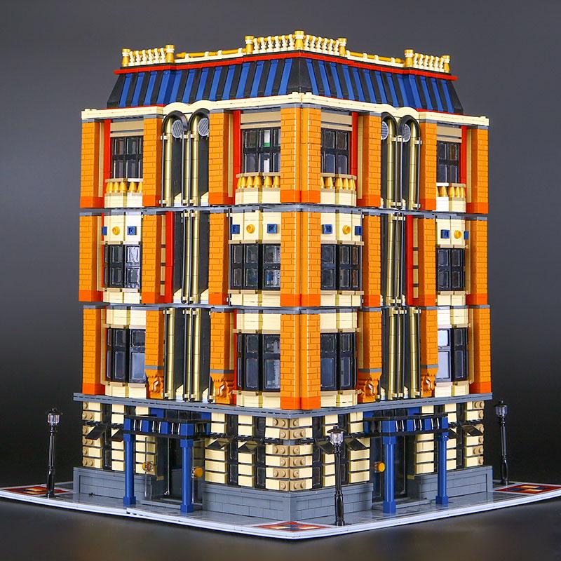 DHL 7968Pcs Genuine MOC Creative Series The Apple University Set Building Blocks Bricks Educational DIY Child's Toys & Hobbies