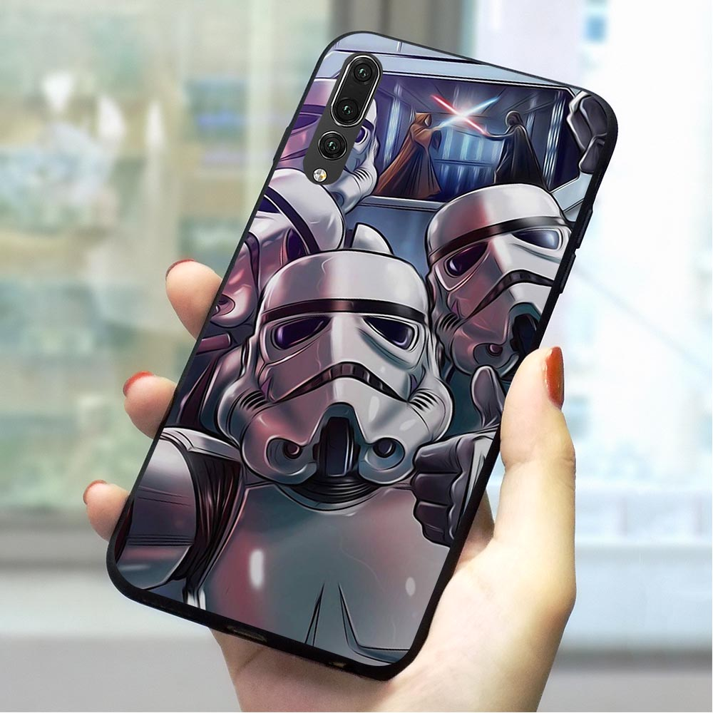 Star Wars Movie Soft TPU Case for Huawei P9 Lite mini Phone Cover for P10 2018 P20 P30 Pro Mate 10 20 P Smart 2019 P8 2017 image