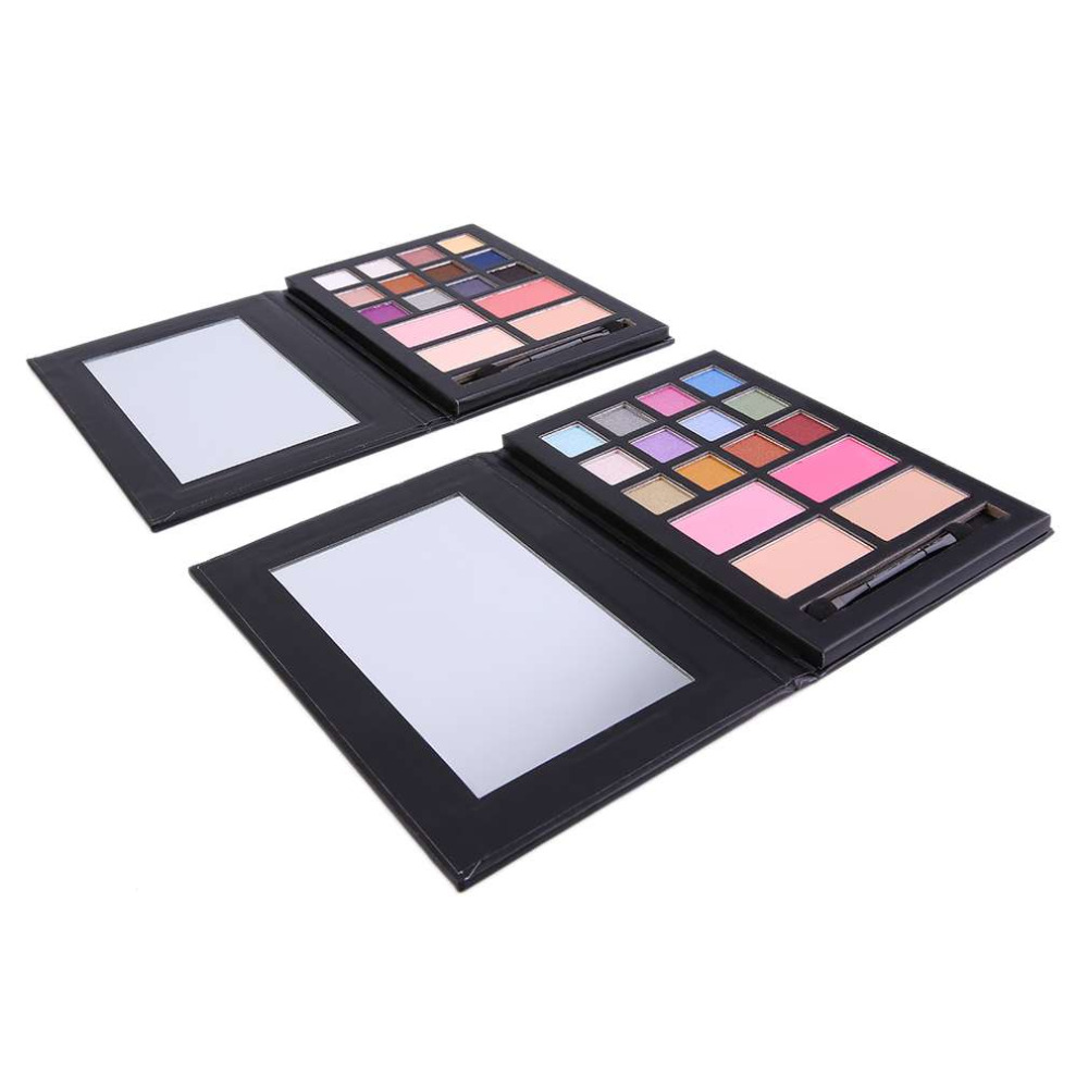 52 Home Multifungsi Box Makeup Alat Tulis Display Tray Medium Folder Mode 2 Pcs Set Wanita Wajah Kosmetik Universal Eyeshadow Blush Bronzer Korektif