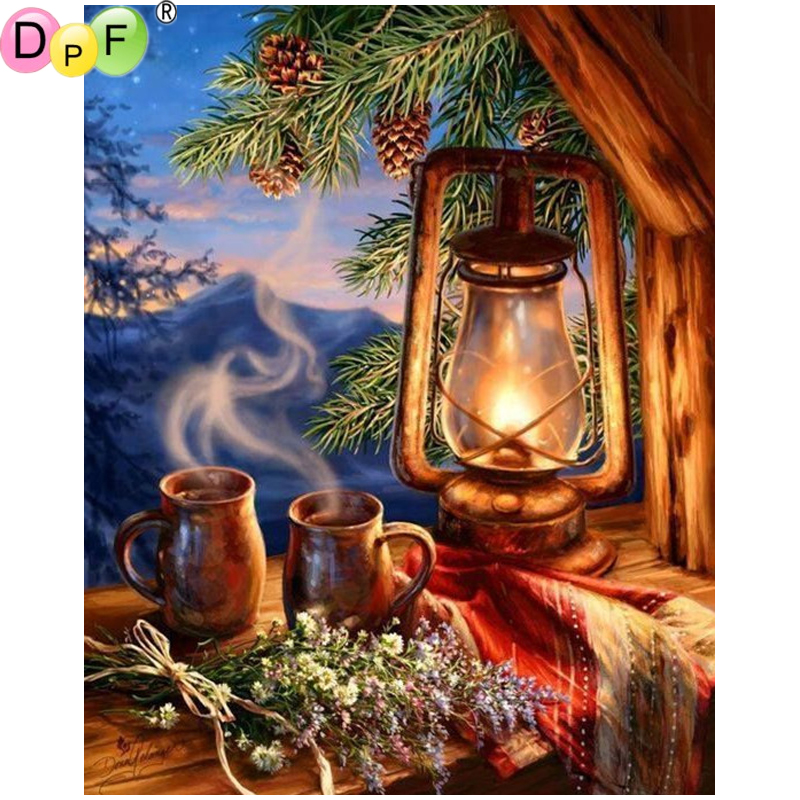 Diamond Painting Cross Stitch 100% True Dpf Diy Lamp Cup 5d Mosaic Kit Full Square Diamond Crafts Wall Painting Crafts Diamond Painting Cross Stitch Diamond Embroidery Supplement The Vital Energy And Nourish Yin