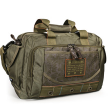 Ruil Men Camouflage Outdoors Travel Bag Portable Oxford Cloth Waterproof Shoulder Leisure Bags