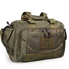 Ruil Men Camouflage Travel Bag Oxford Cloth Bag