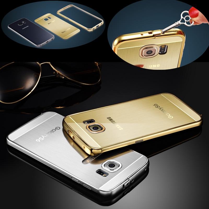 samsung galaxy s6 edge case gold