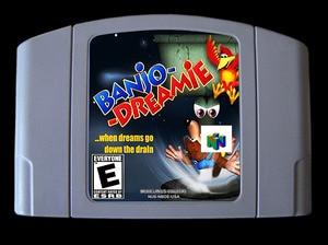 Image 1 - لعبة 64bit ** بانجو دريمي (نسخة الولايات المتحدة الأمريكية!! اللغة الإنجليزية!!)