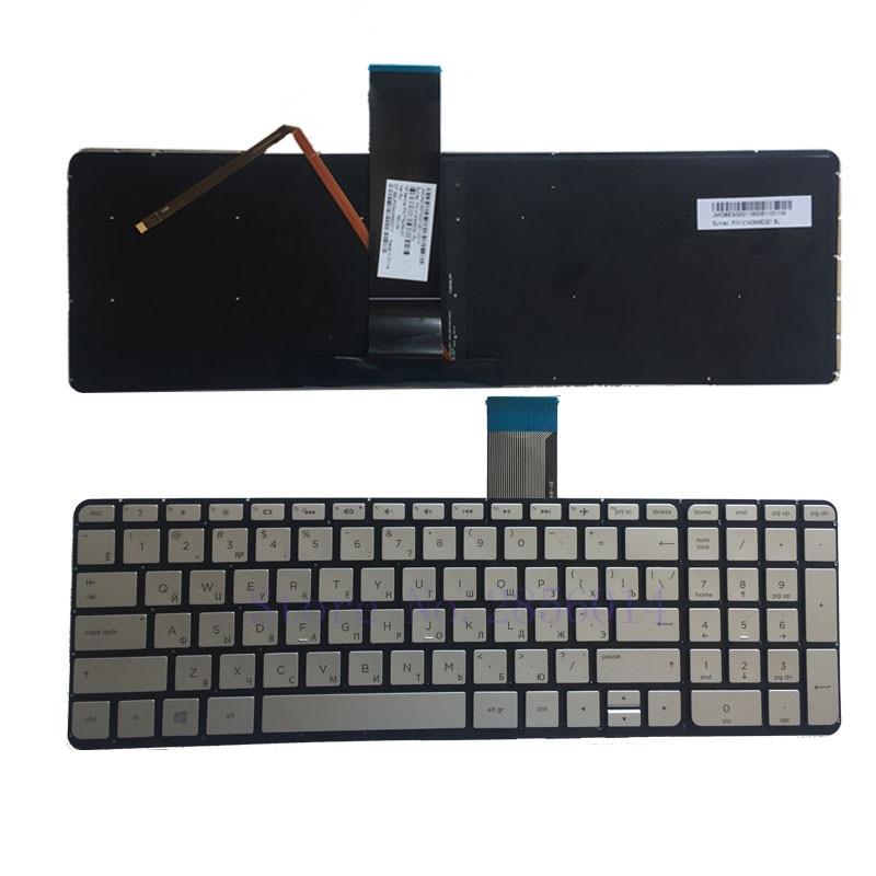 Russian NEW keyboard FOR HP ENVY X360 15-u000 15-u100no 15-u230no 15t-u000 15t-u100 15-u060nz KEYBOARD Silver Backlit RU new ru russian keyboard for hp envy x2 11 g003tu tpn p104 hstnn ib4c base keyboard