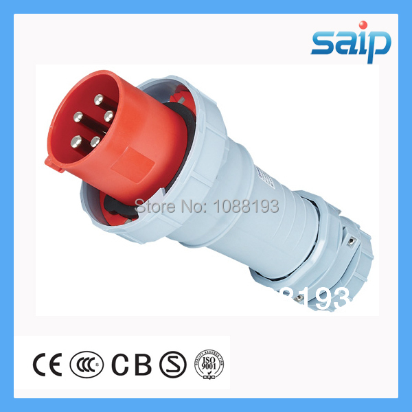Universal Industrial Electric Plug Waterproof 415V 125A CE,CCC,TUV,RoHS