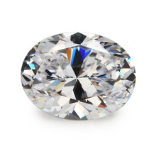 Tamanho 2x3mm 13 13x18mm aaaaa forma oval zircônia cúbica pedras cz gemas para jóias diy