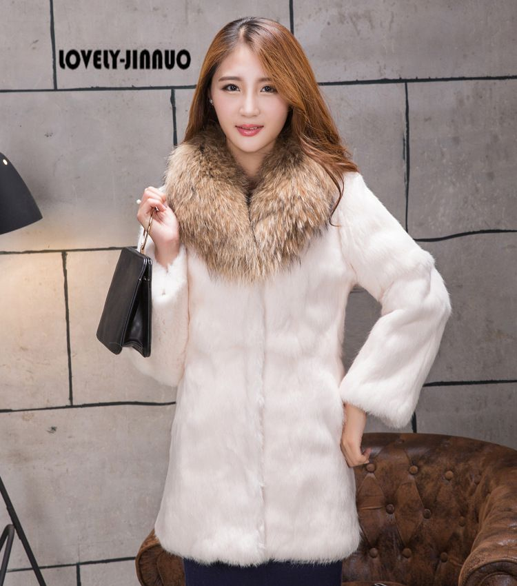 Compare Prices on Real Rabbit Fur Coat- Online Shopping/Buy Low ...
