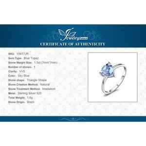 Image 5 - JewelryPalaceของแท้Blue TopazแหวนSolitaire 925 เงินสเตอร์ลิงแหวนแหวนหมั้นแหวนเงิน 925 เครื่องประดับอัญมณี