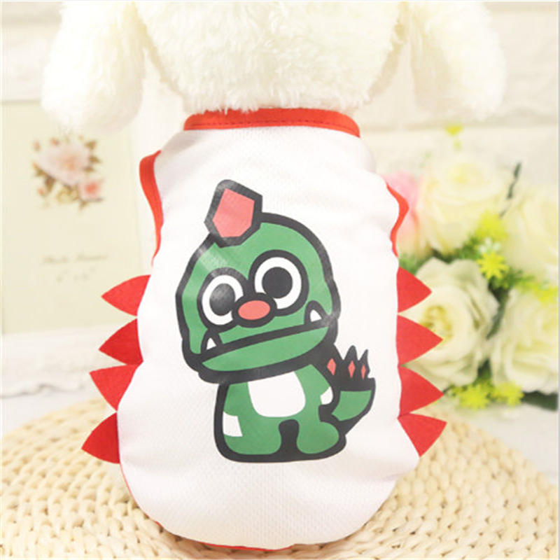 Fashion Dog Clothes Pet Puppy Summer Vest Small Dog Dogs Clothing Cotton T Shirt Apparel Clothes Dog Puppy Teddy