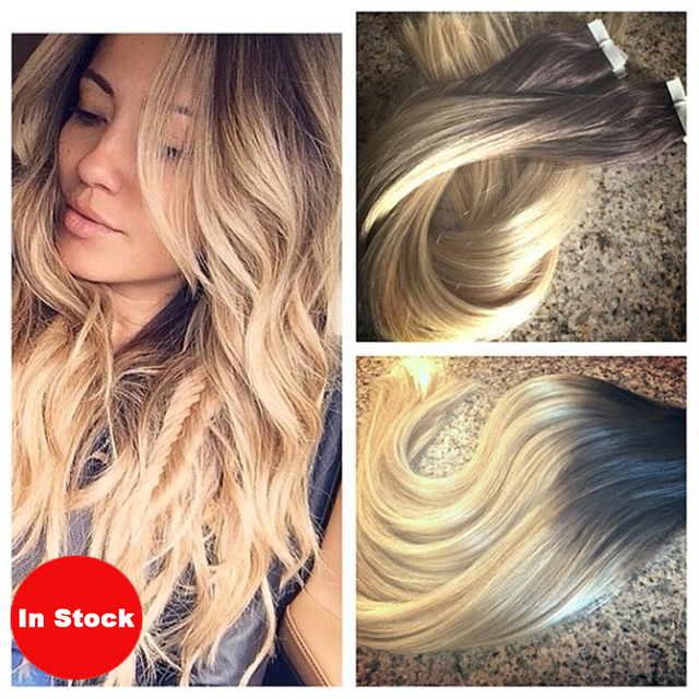 Aliexpress Buy 40pcs100g Brazilian Skin Weft Ombre Hair