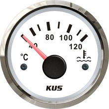Water-Temperature-Gauge Motorcycle-Accessories Boat 52mm KUS for Car 12V 24V 2-40-120-Degree