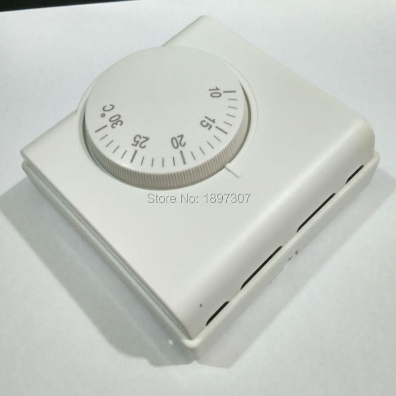 220VAC mehaaniline temperatuuriregulaator ruumikütte termostaat - Mõõtevahendid - Foto 3