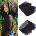 13x4 Kinky Curly  Frontal Closure Mongolian Afro Kinky Curly Lace Frontal Ear to Ear Lace Frontal Closure Dreaming Queen Hair