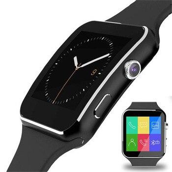 Reloj inteligente X6 Pk Z60 A1 M7, reloj inteligente con cámara, pantalla táctil, SIM, tarjeta TF y Bluetooth para iPhone, Samsung y Xiaomi