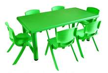 120*60*50cm high quality Children Tables kindergarten desk with Chairs(China)