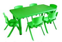 120*60*50cm high quality Children Tables kindergarten desk with Chairs