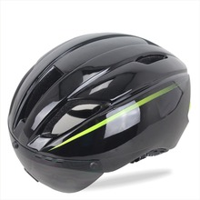 Ultralight In-mold Aero Bicycle Helmet Ciclismo 11 Vents Adult Cycling Helmets with Sunglasses adjusted Bicicleta Bici Casqu