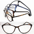 Wholesale JH1017 lightweight with purple gradiently full-rim cateye arderTR90 optical frames free shipping