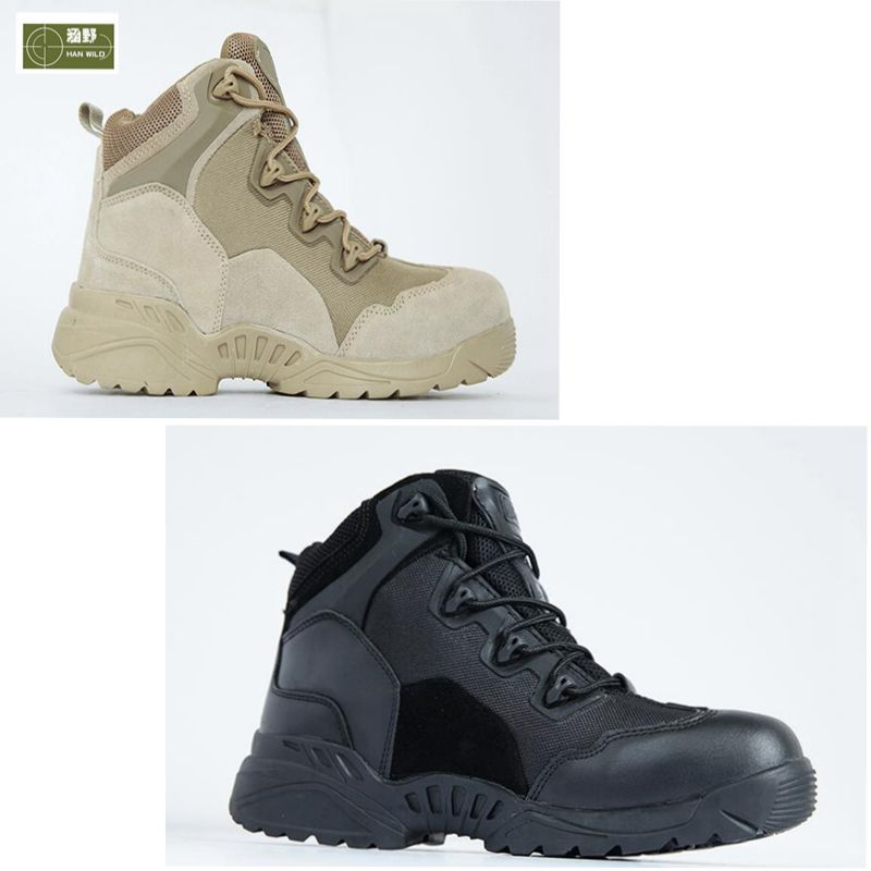 Men's Boots Fighting Tactical Ankle Boot Climbing Breathable Sport Shoes Leather Shoes Outdoor Sneakers Hiking Boots mulinsen winter2017 tactical boots hiking shoes for men climbing mountain sport shoes man brand ankle boots men s sneakers