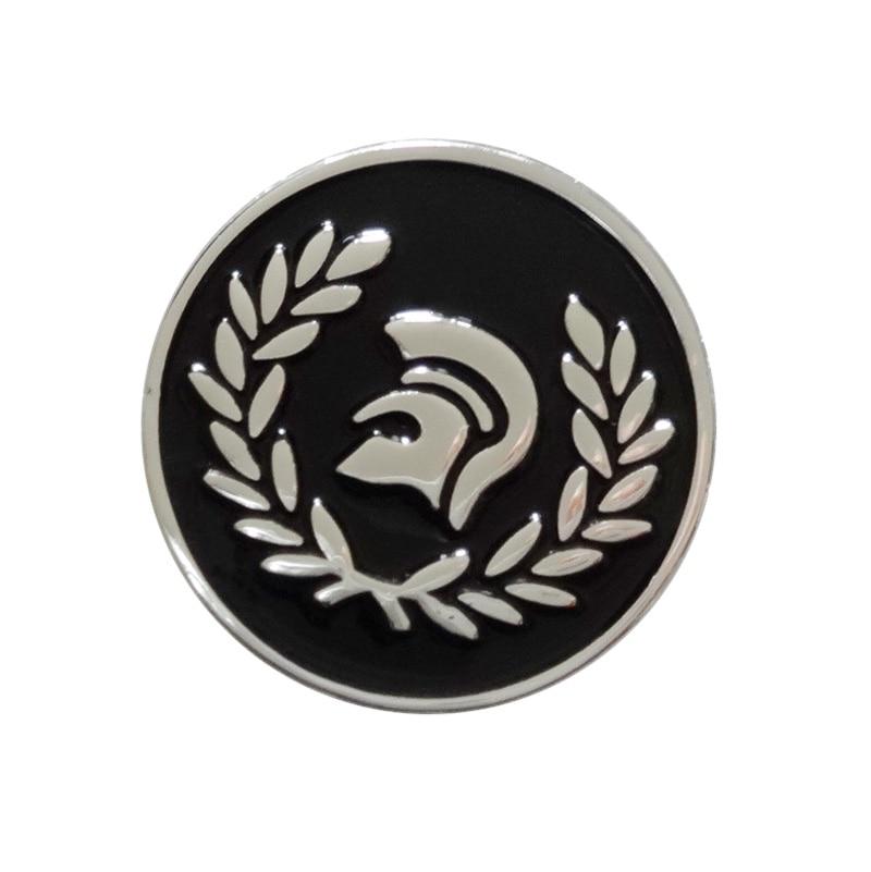 19 mm Metal Trojan pin Badge 350pcs lot