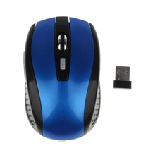 Беспроводная оптическая мини-мышь 2,4 ГГц, портативная мышь, беспроводная USB-мышь для ПК, ноутбука, ноутбука