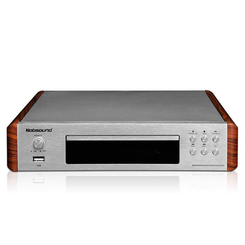 2018 Nobsound DV-525 High Quality DVD/CD/USB Player Signal Output Coaxial/Optics/RCA/HDMI/S-Video Outlets 110-240V/50Hz shanling t3 2 pure digital output cd turntable hifi pure turntable cd player cd pro2 movement 110v 220v