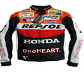 Weixiang Honda Mesh Racing Racing Motorcycle Jacket Motorcycle Wear Anti - fall Clothing Summer Breathable  S-XXXL