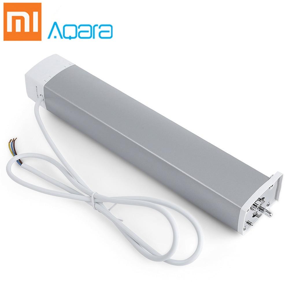 Xiaomi Aqara Cortina Inteligente Do Motor 100-240 v/Maximum 16A/3500 w Taxa de ZigBee 2.4 ghz Sem Fio dispositivo de Controle Remoto Casa inteligente