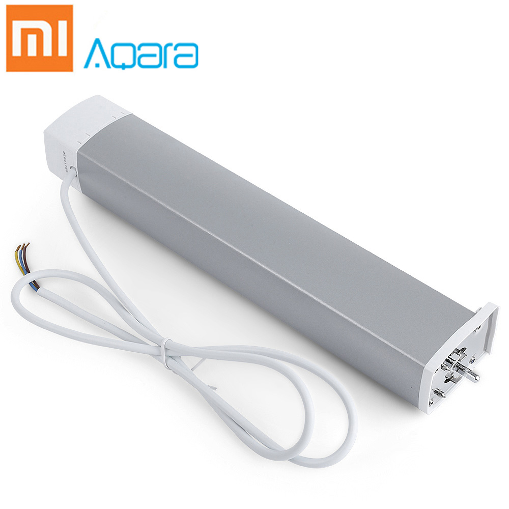 Xiaomi Aqara Intelligent Curtain Motor 100-240V/Maximum 16A/3500W Rate ZigBee 2.4GHz Wireless Smart Remote Control Home DeviceXiaomi Aqara Intelligent Curtain Motor 100-240V/Maximum 16A/3500W Rate ZigBee 2.4GHz Wireless Smart Remote Control Home Device