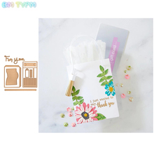 BM Tote bag Metal Cutting Dies Stencil for DIY Scrapbooking Album Embossing Paper Cards