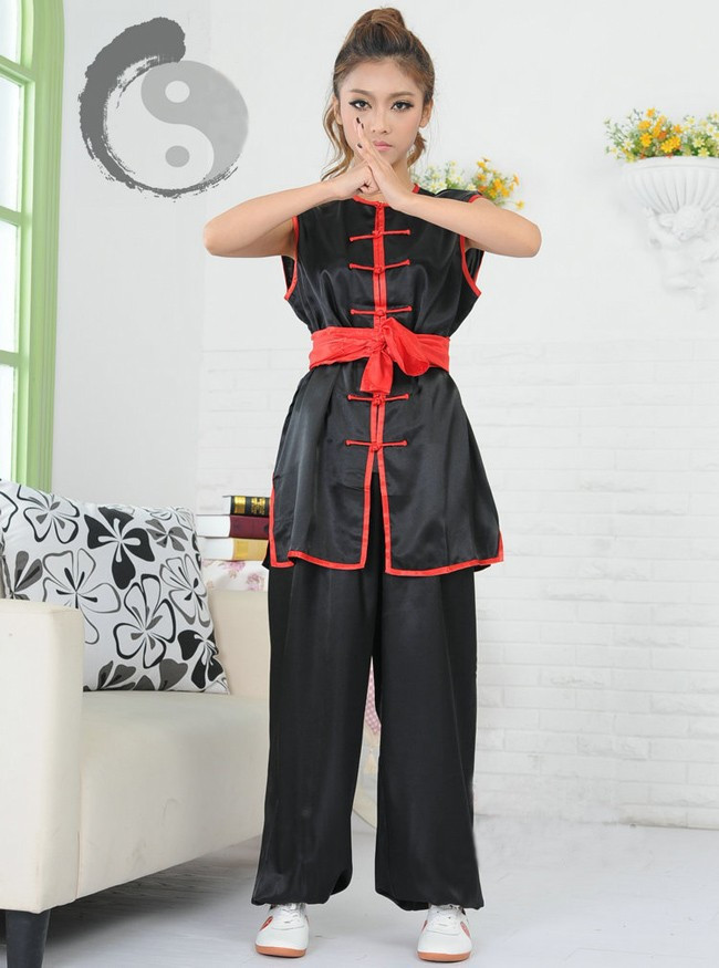 Chinese Traditional Wushu Martial Arts Uniform Adult Kungfu Suit Men And Women Wing Chun Clothes