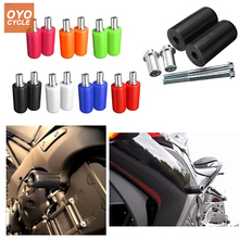 10mm Motorcycle Frame Slider Anti Crash Pad Falling Protection Moto For Suzuki GSXR600 GSXR750 GSXR1000 GSX 1300R HAYABUSA цена