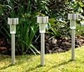 10pcs/lot Stainless Outdoor Color Changing Led Landscape Light Garden Lawn Lamp
