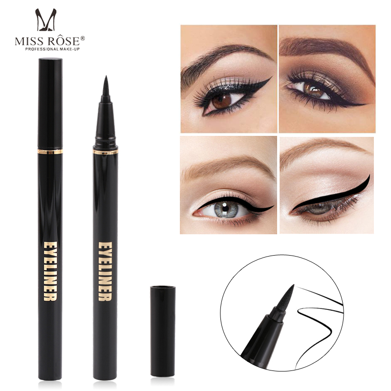 Black Eyeliner Best Waterproof Liquid Eye liner Pen High Quality Pigment & Long Lasting Eyeliner Makeup Quick-drying Eyeliner